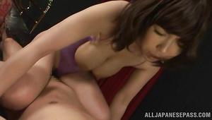 Buddy uses hard prick to satisfy lustful bosomed idol Minako Kahara in this movie