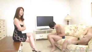 Impressive idol Misa Yuki and fuckmate are fucking like 2 wild animals all day